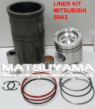 Liner Kit for Mitsubishi S6A3