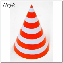 Children's Birthday Decorating Supplies Stripe Birthday Party Paper Hats SB006-2