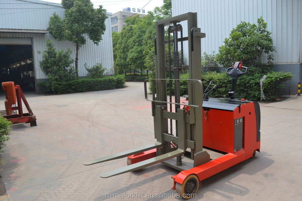 TFA mini electric reach pallet stacker 24V/210 battery at bottom price