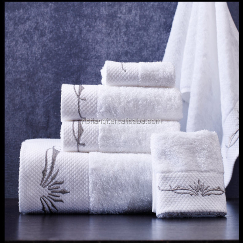 Luxury Pakistan <strong>cotton</strong> 100% high quality hotel bath towel embroidery