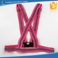 2016 New Products Reflective Sport Vest Safety Running Reflective Vest
