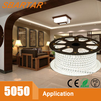 CE RoHS PSE Approved 220v led strip led under cabinet rope lighting