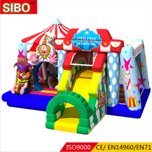 Air toys funny jump house kids inflatable castle inflatable bouncers slide for rent