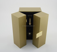 hot selling top high end luxury handmade cosmetic box packaging