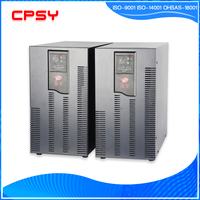 High frequency 6kva online UPS with IGBT rectifier and intelligent charging management Shangyu Shenzhen