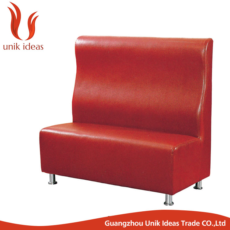hot sale restaurant hotel sofa sets design leather restaurant booth
