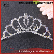 2016 jewelry good crystal headband hair accessories crown and tiara