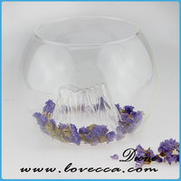 round glass bowl vase clear glass hanging vases Vintage Bottles Clear Glass Bottles