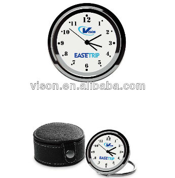 Mini metal travel clock/desktop clock/table clock