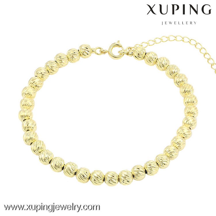 74470 cheap fashion jewelry made in china bead bracelet 14k gold chain artificial bracelet jewelry