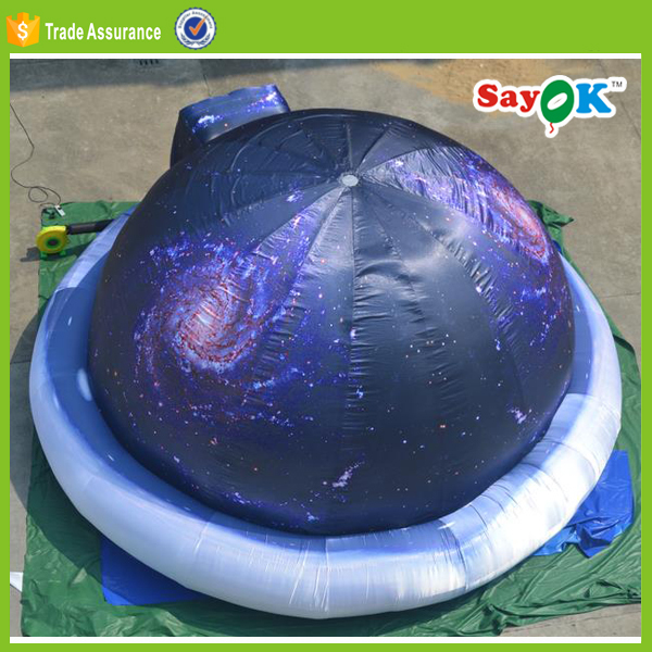 big outdoor air dome tent inflatable planetarium dome party tent