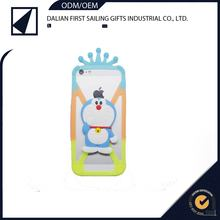 Phone protected cover silicon 3D doraemon phone case