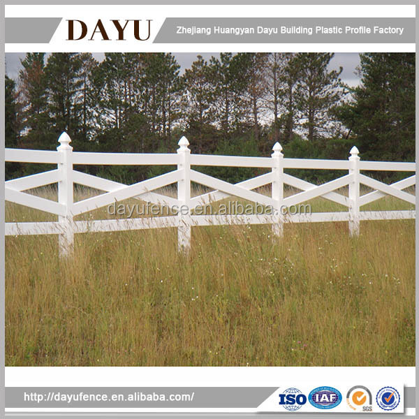 Best Manufacturer in China 2016 Ranch Rail Fence Designs
