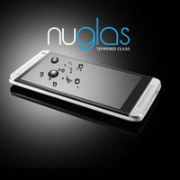 Nuglas Clear Tempered Screen Protector/Guard/Ward For HTC ONE M7