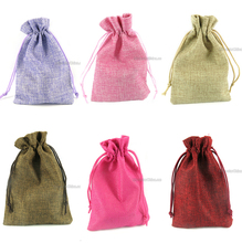 Wholesales In Stock Jewelry Linen Bag