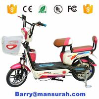 Eco-friendly 350w 500w 48v lithium battery electric motorcycle/folding electric motorcycle/adult electric motorcycle with pedals