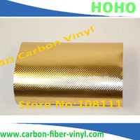 Super Glossy 5D Carbon Fibre Vinyl Wrap Car Wrapping Film Shiny Carbon 4D like Real Carbon Air Bubble Free Size:1.52*20M/Rol