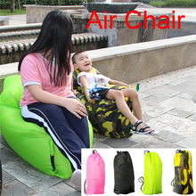 Selling Best Beach Air Bed Banana Shaped Lazy Air Sofa Outdoor Giant Inflatable Sofa