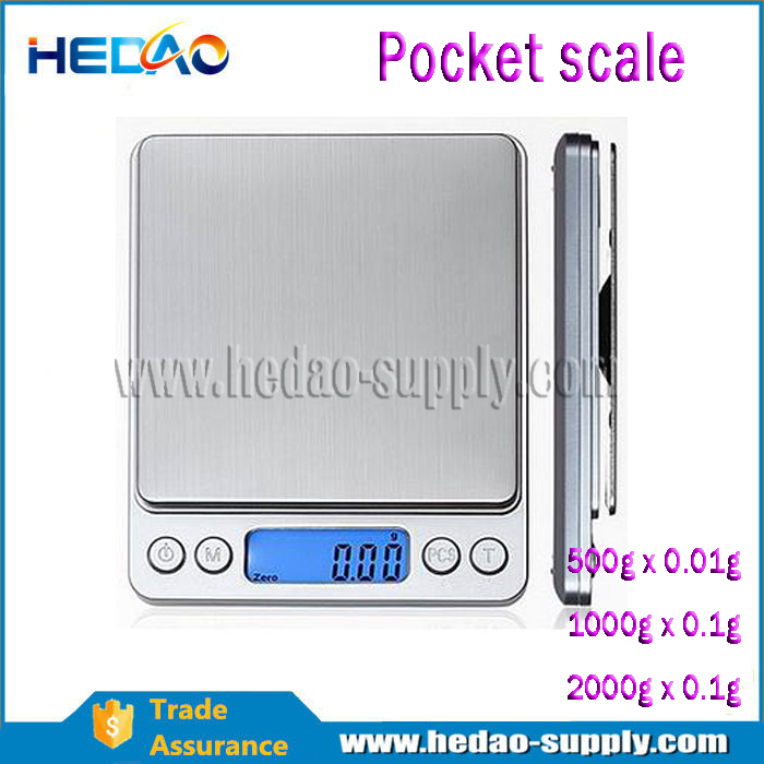 high accuracy / low price / Stainless steel platform 0.001g digital pocket scale