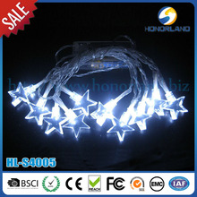 solar power 10m 10leds star low voltage outdoor solar led light
