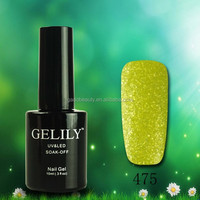 Hot Sales Crystal Sand Gel Uv Gel Nail Gel 18 Colors
