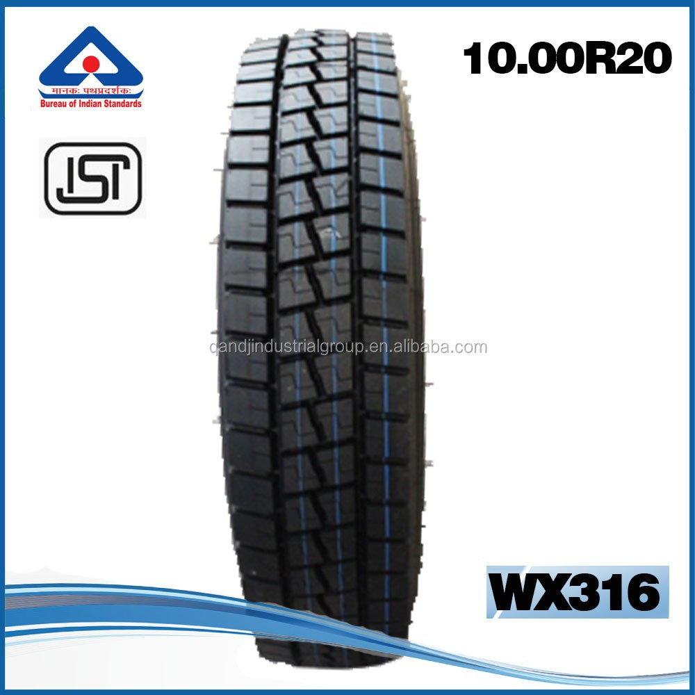 BIS CERTIFIED tyres 1100R20 1000R20 china truck tyre price list in indian tyre tube compnanies looking for distributor