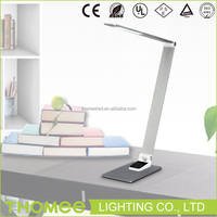 10W European style 3-color temperature USB Portable Folding Touch Dimmable LED Table Lamp