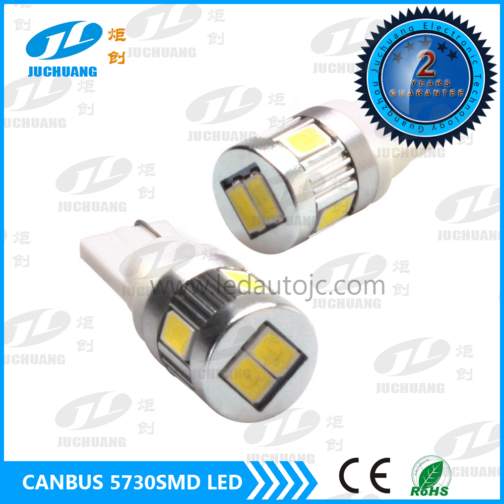Error Free Led Car Bulb 5730SMD T10 Auto LED Light Car Led Lamp