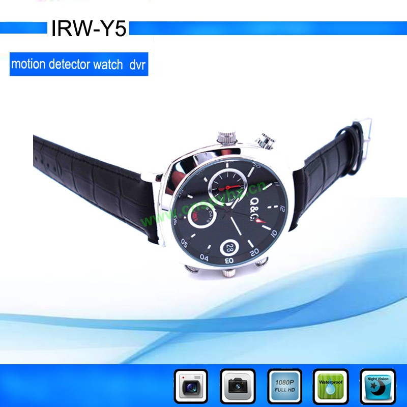 Motion Detect Support IR Night Vision 1080P HD DV Watch Camera Portable DVR Watch Type recorder Y5