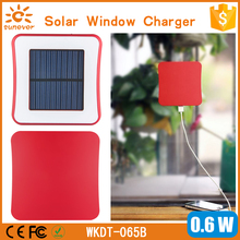2013 Universal 1800mAh Window Solar Mobile Charger for Iphone
