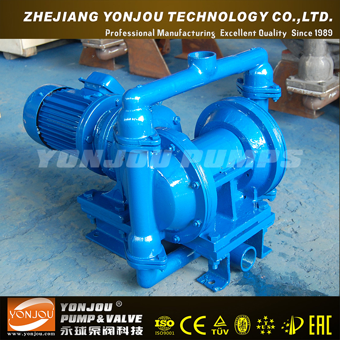 DBY electric operated diaphragm pump and pneumatic for choice