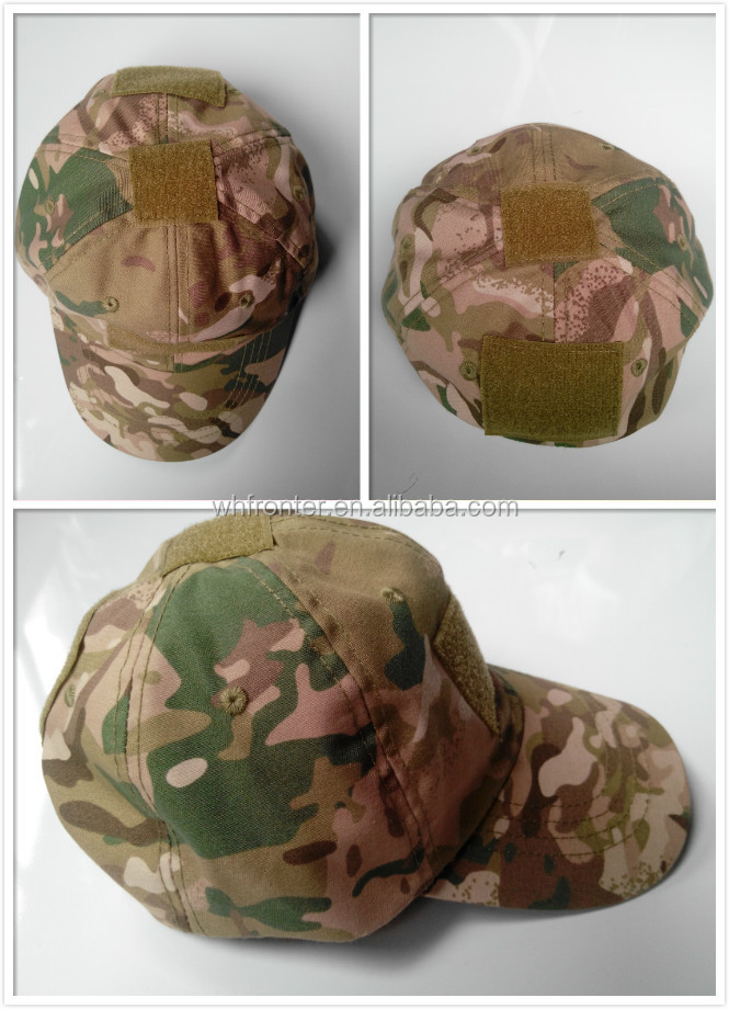 Hot sale fashion multiple colors multicam camouflage all one size mens caps