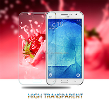 HUYSHE mobile accessories 9h 0.3mm thickness tempered glass screen protector for samsung galaxy j7 anti-explosion