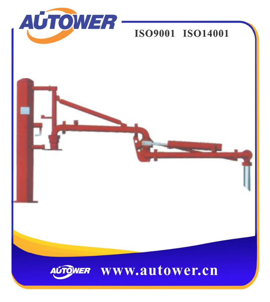 crude oil crane arm for liquid petroleum chemical medium at tank farm storage project, Loading arm