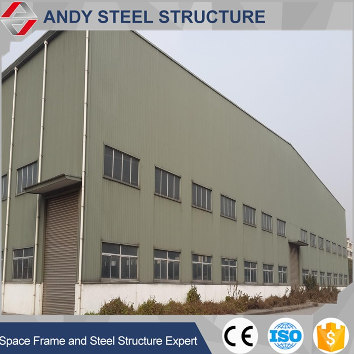 Flexible customized design building and construction space frame warehouse/workshop