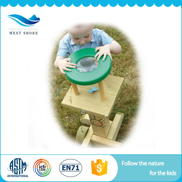 Modern Design Product Wooden Toys Educational Kids Outdoor Toys Observation Mirror With Best Quality