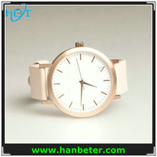 New polish rose gold plated custom brand wrist watch women watch with crown logo 5atm water resistant