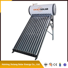Integrated Pressurized Bearing Solar water heater Calentador de agua solar 14mm stainless steel type for cold weather country