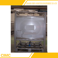 High Quality Squareness Stainless Steel IBC Intermediate Bulk Container