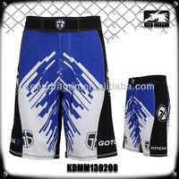 Professional Polyester And Spandex Men Custom Design Short Mma Store