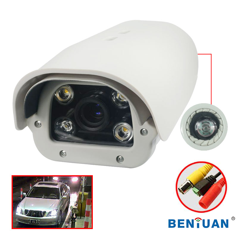 High quality 700TVL 5-50mm IR Correction Lens cctv LPR Camera For High way