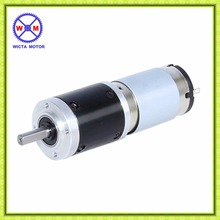 Long life customized shaft 36mm diameter High torque 12v dc planetary gear motor
