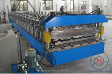 Austrian Popular Double Deck Roof Sheet Roll Forming Machine