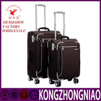 KZN 1416 Travel trolley luggage bag customized luggage suitcase bag and case