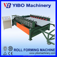 Yibo machinery automatic double edge roll forming folding machine