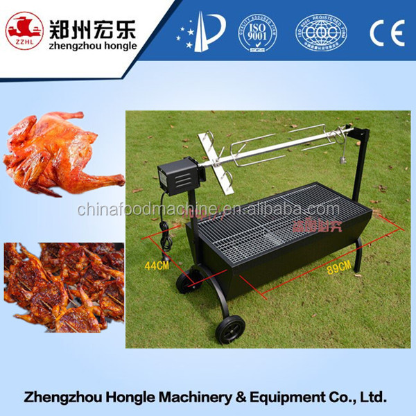 roast suckling pig bbq grill industrial charcoal chicken grill machine rotisseries grill for sale