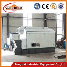 Long life coal fired hot water boiler for home