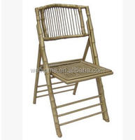 bamboo folding chair for wedding and event