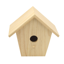 new unfinished wooden house wholesale canary bird cage
