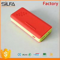 Silfa high quality portable universal rechargeable power supply with speaker\